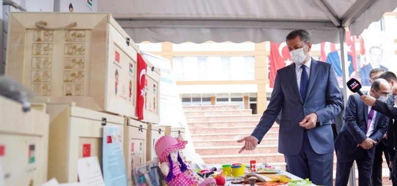 TURKEY SENDS 1,000 BOXES OF EDUCATIONAL TOYS TO PALESTINIAN KIDS