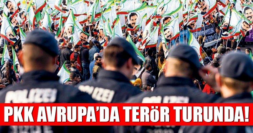 PKK Avrupa'da terör turunda