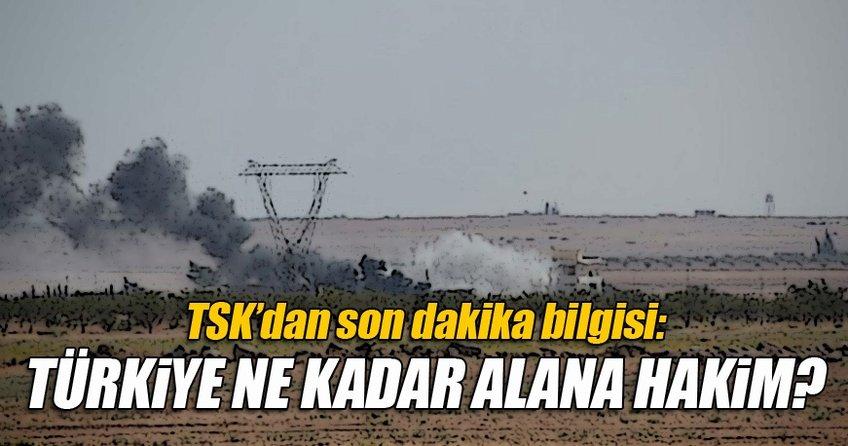 TSK'dan açıklama: O alanda kontrol sağlandı