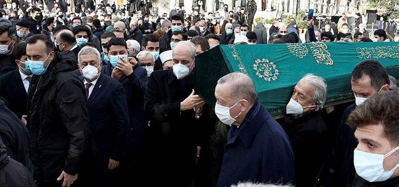 ERDOĞAN EXTENDS HIS CONDOLENCES TO LOVED ONES OF TURKISH HISTORIAN YAVUZ BAHADIROĞLU