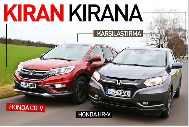 Honda Hrv Vs Crv >> Karsilastirma Honda Cr V Hr V Test Merkezi Haberleri