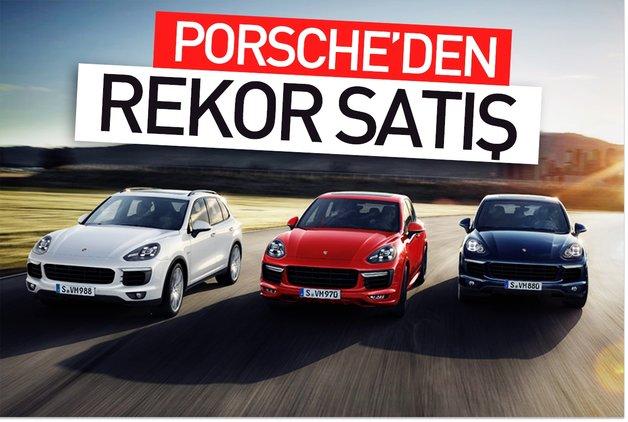 Porsche'den rekor satış