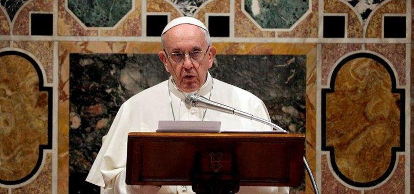 POPE FRANCIS: VATICAN CANNOT MEDIATE VENEZUELAN CRISIS