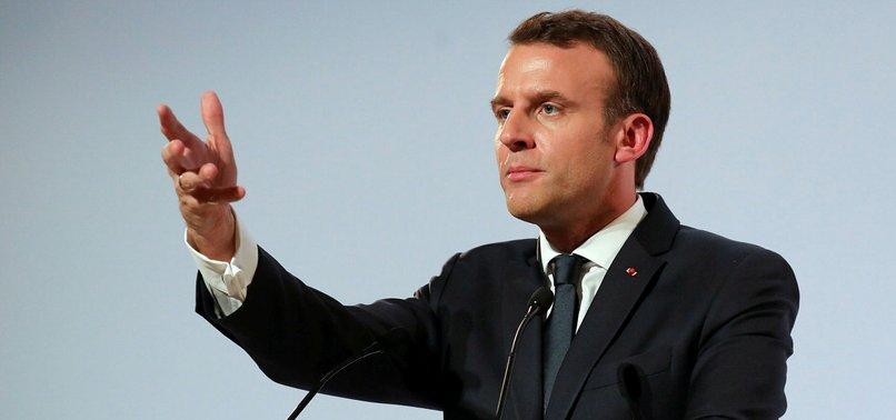 FRANCES MACRON POKES AT DONALD TRUMP FOR LEAVING PARIS ACCORD