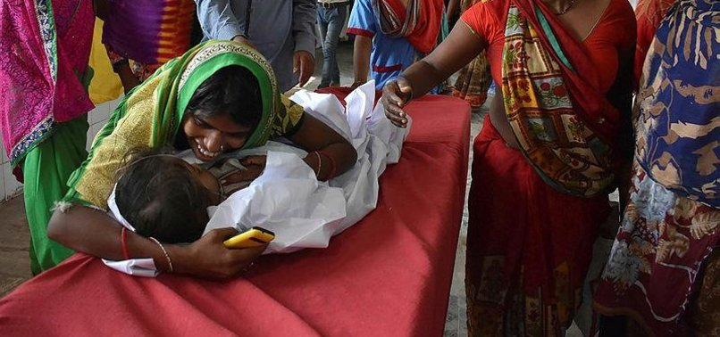 DOZENS OF CHILDREN SUCCUMB TO BRAIN INFLAMATION IN INDIA