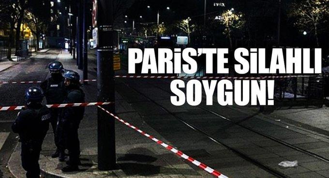 Pariste silahlı soygun