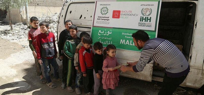 TURKISH CHARITY URGES FLOUR DELIVERY TO SYRIA