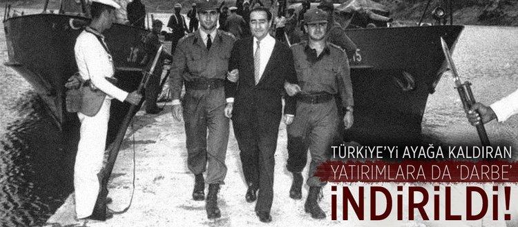 Türkiye'yi ayağa kaldıran yatırımlara da 'darbe' indirildi!