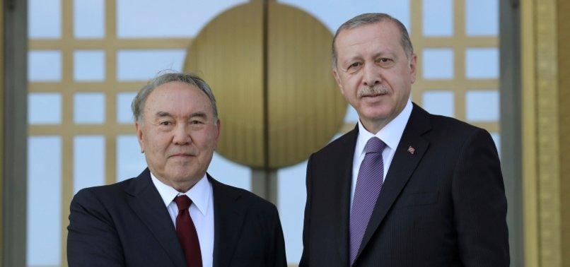 TURKISH, KAZAKH PRESIDENTS DISCUSS FIGHT AGAINST FETO