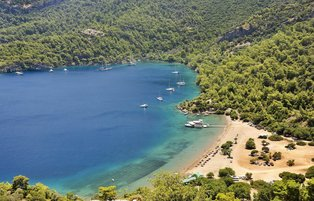 Göcek gives you opportunity to have holiday surrounded by natural beauty