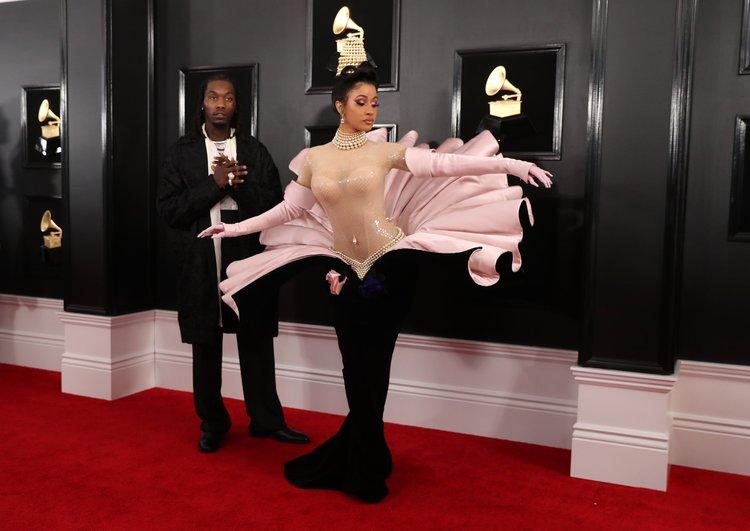 2019 Grammy Ödülleri'nde kırmızı halı şıklığı