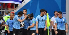 Uruguay beats Saudi, advancing to WCup playoffs