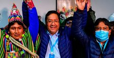 Morales aide claims victory in Bolivia's presidential election