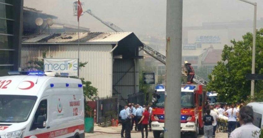 Ankara İvedik Sanayi Bölgesi'nde patlama
