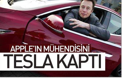 Appleın mühendisini Tesla kaptı