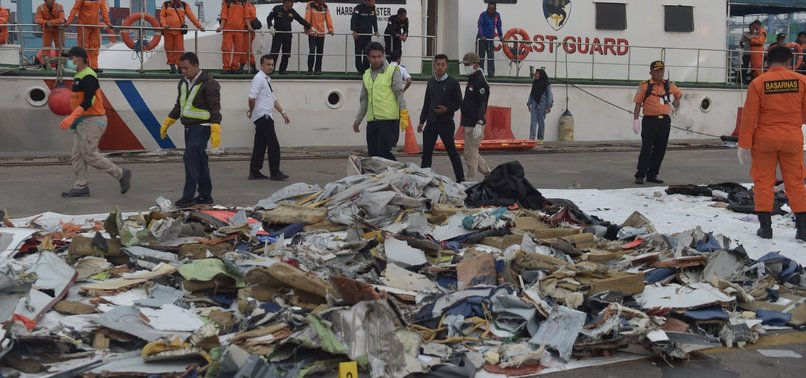 INDONESIAN NAVY FINDS POSSIBLE SEABED LOCATION OF CRASHED LION AIR JET