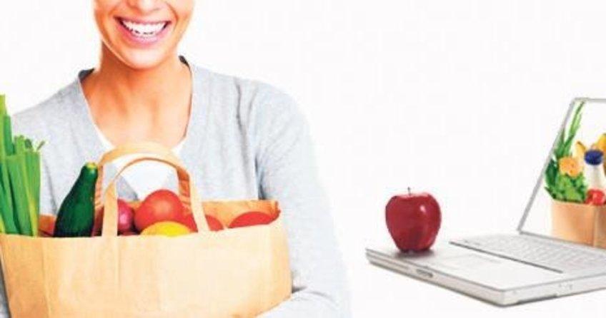 Gıda alışverişleri internet üzerinden