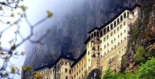 Turkey plans bird's-eye view of Sumela Monastery