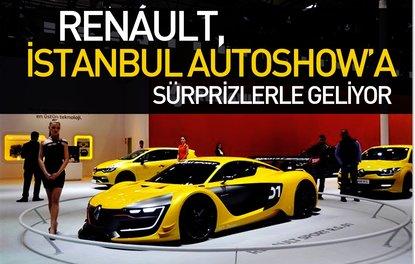 Renault, İstanbul Autoshowa sürprizlerle geliyor