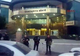 HDP'li Siirt Belediyesi'ne sabahın erken saatlerinde operasyon