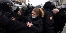 Russian police detain over 2,000 protesters at Navalny rallies