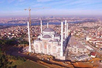 Çamlıca Camii'nin son hali görüntülendi!