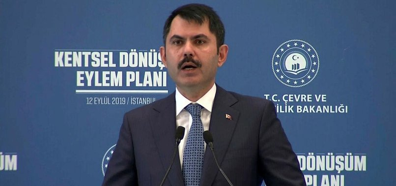 TURKEY TO LAUNCH URBAN RENEWAL PROJECT FOR 1.5M HOUSES