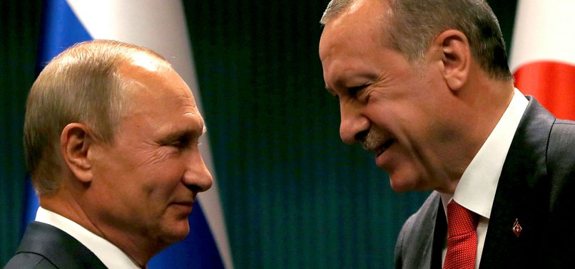ERDOĞAN, PUTIN TO TALK ON U.S. RECOGNITION OF JERUSALEM
