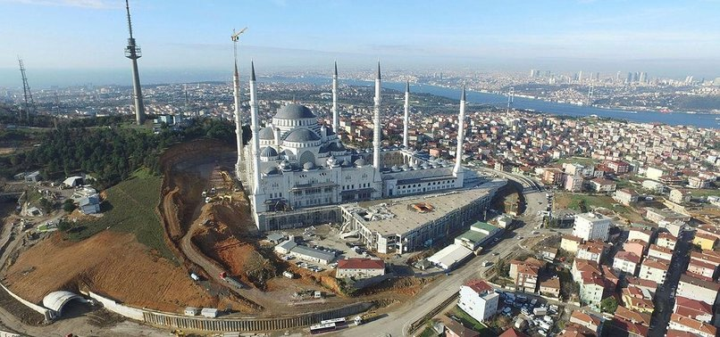 ISTANBUL'S GIANT ÇAMLICA MOSQUE TO WELCOME WORSHIPPERS IN RAMADAN 2018