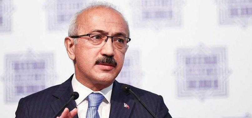 TURKISH TREASURY AND FINANCE MINISTER LÜTFI ELVAN JOINS G20 MEETING IN US