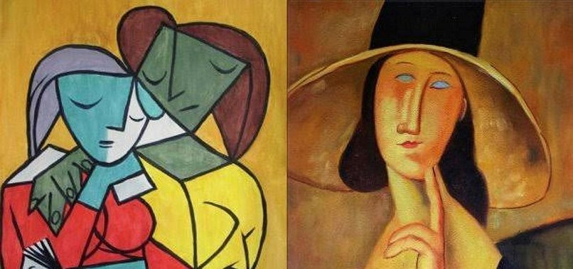 MUSEUM PROTESTERS DENOUNCE PICASSOS TREATMENT OF WOMEN