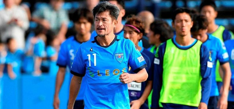 WORLDS OLDEST FOOTBALLER MIURA RENEWS CONTRACT WITH YOKOHAMA FC