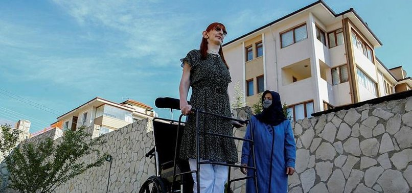 WORLDS TALLEST WOMAN RUMEYSA GELGI WANTS TO USE GUINNESS RECORD TO CELEBRATE DIFFERENCES