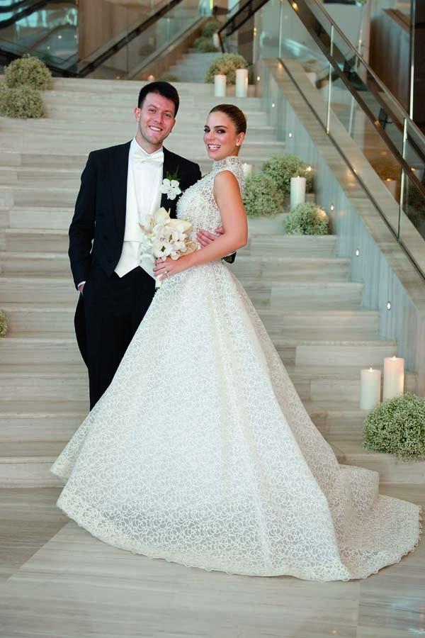 Raffles Otel'de muhteşem düğün