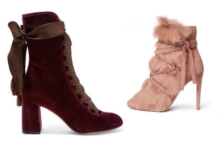 Geçtiğimiz ilkbahar-yaz sezonunda ayakkabılarda olduğu gibi, bu sezon bot modellerinde de bilekten bağlılar hitler arasında.