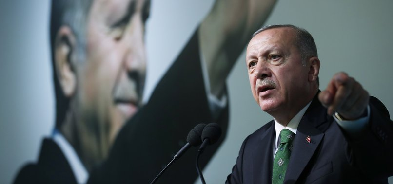TURKEY WILL SORT OUT SAFE ZONE IN N.SYRIA SOON, PRESIDENT ERDOĞAN SAYS