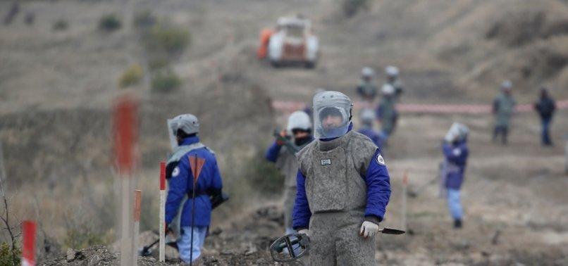 TURKEY TO HELP AZERBAIJANI ARMY IN CLEARING MINES IN KARABAKH