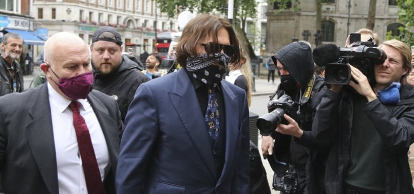 DEPP SEVERED FINGER DURING THREE-DAY ROW WITH EX-WIFE, UK COURT TOLD