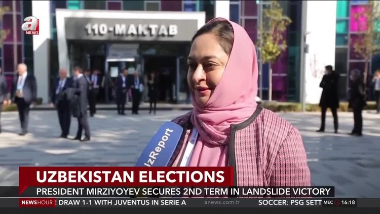 Uzbekistan elections: Mirziyoyev secures 2nd term in landslide victory