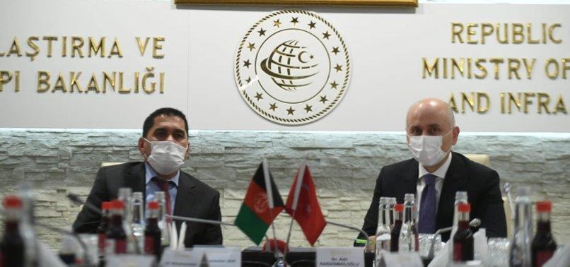 TURKEY TO BOLSTER AFGHANISTANS TRANSPORTATION SYSTEM