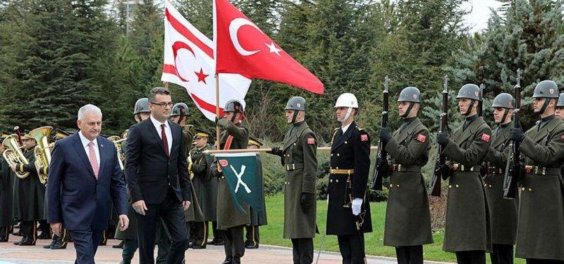PREMIERS OF TURKEY, TRNC MEET IN ANKARA