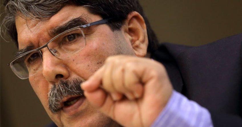 PYD'nin Eş Başkanı Salih Müslim'den küstah açıklama