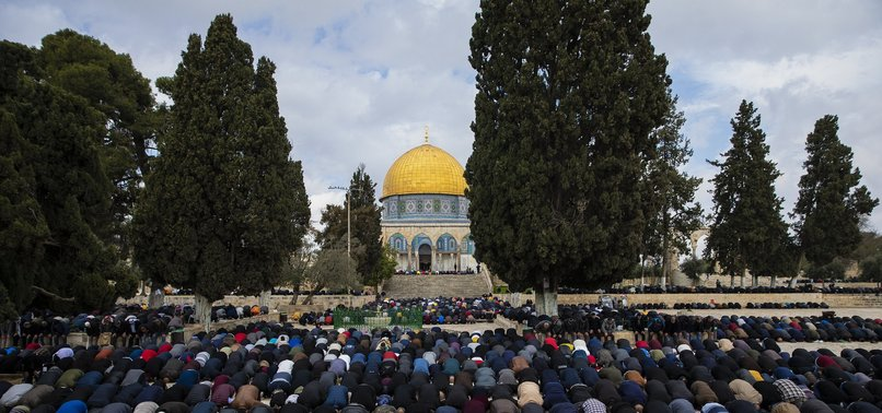 PRAYERS AT JERUSALEMS AL-AQSA MOSQUE SUSPENDED OVER VIRUS