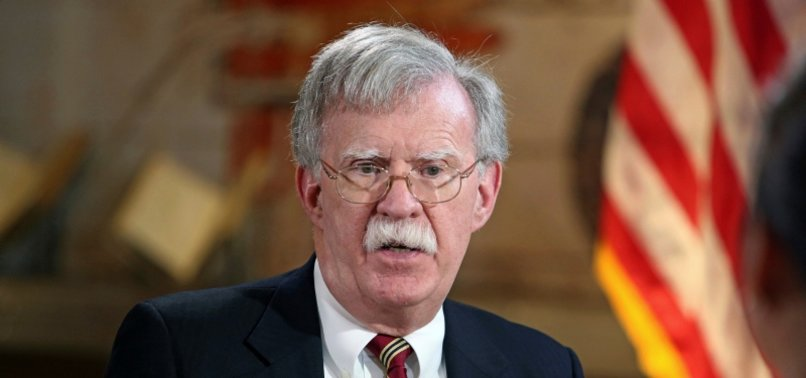 BOLTONS DEPARTURE BRINGS SMALL SIGH OF RELIEF FOR WORLD CONFLICTS