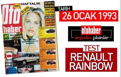 Arşivden çıkanlar: 26 Ocak 1993 Renault Rainbow testi