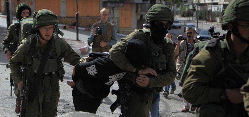 ISRAELI POLICE ARREST PALESTINIAN OVER SETTLER KILLING