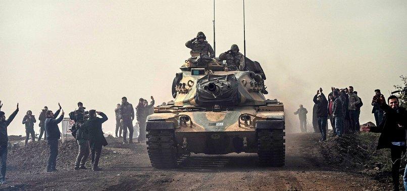 TURKISH FORCES NEUTRALIZE ALMOST 500 PYD/PKK TERRORISTS IN AFRIN
