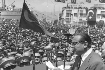 Demokrasi şehidi Adnan Menderes'in idamının 57'nci  yılı
