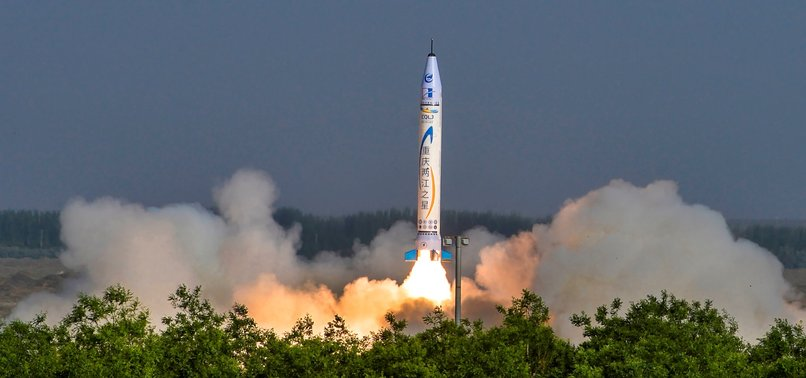 CHINESE FIRM LAUNCHES FIRST SPACE ROCKET