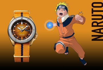 Seiko Naruto karakterlerini onurlandırdığı bir saat koleksiyonu çıkardı